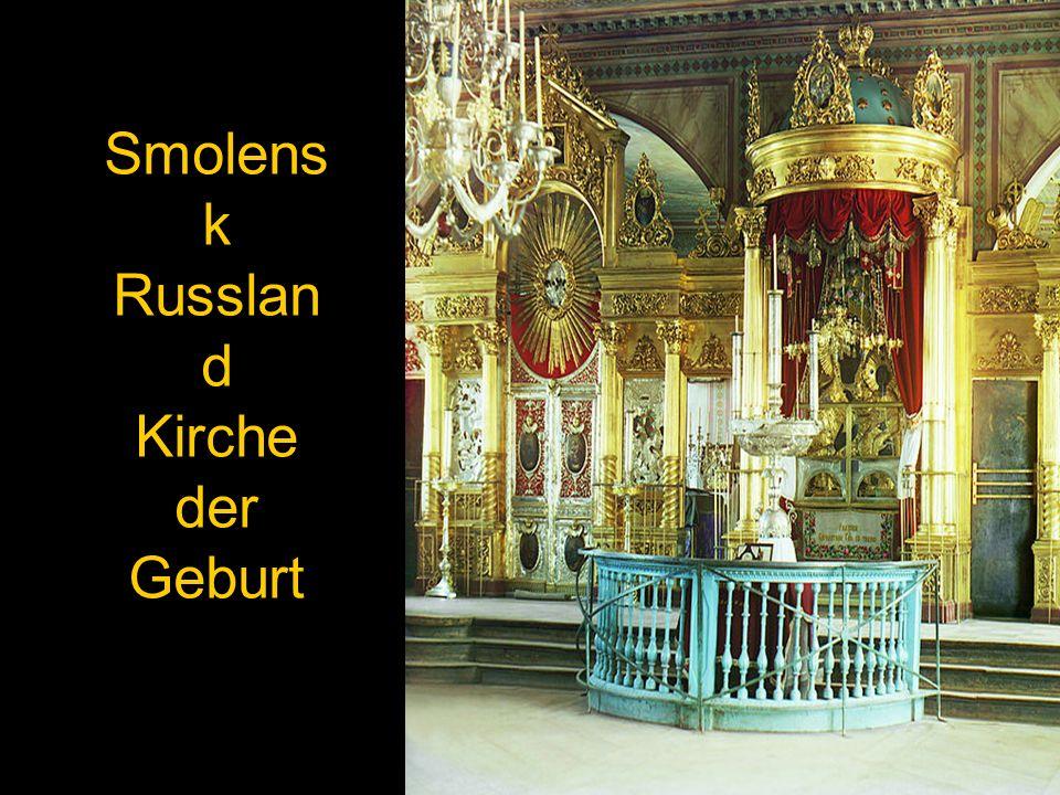 Smolensk Russland Kirche der Geburt