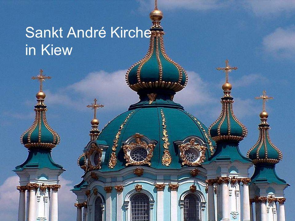 Sankt André Kirche in Kiew