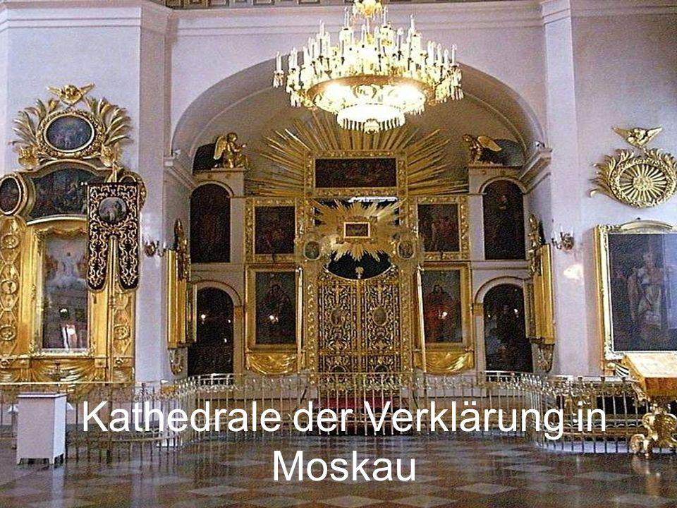 Kathedrale der Verklärung in Moskau