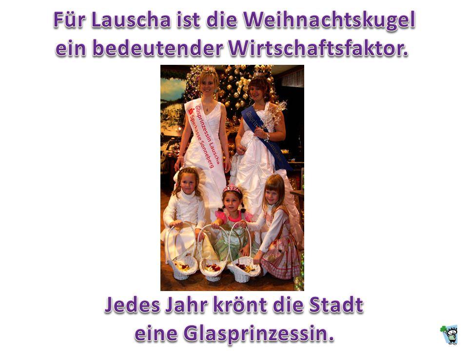 Für Lauscha ist die Weihnachtskugel ein bedeutender Wirtschaftsfaktor.