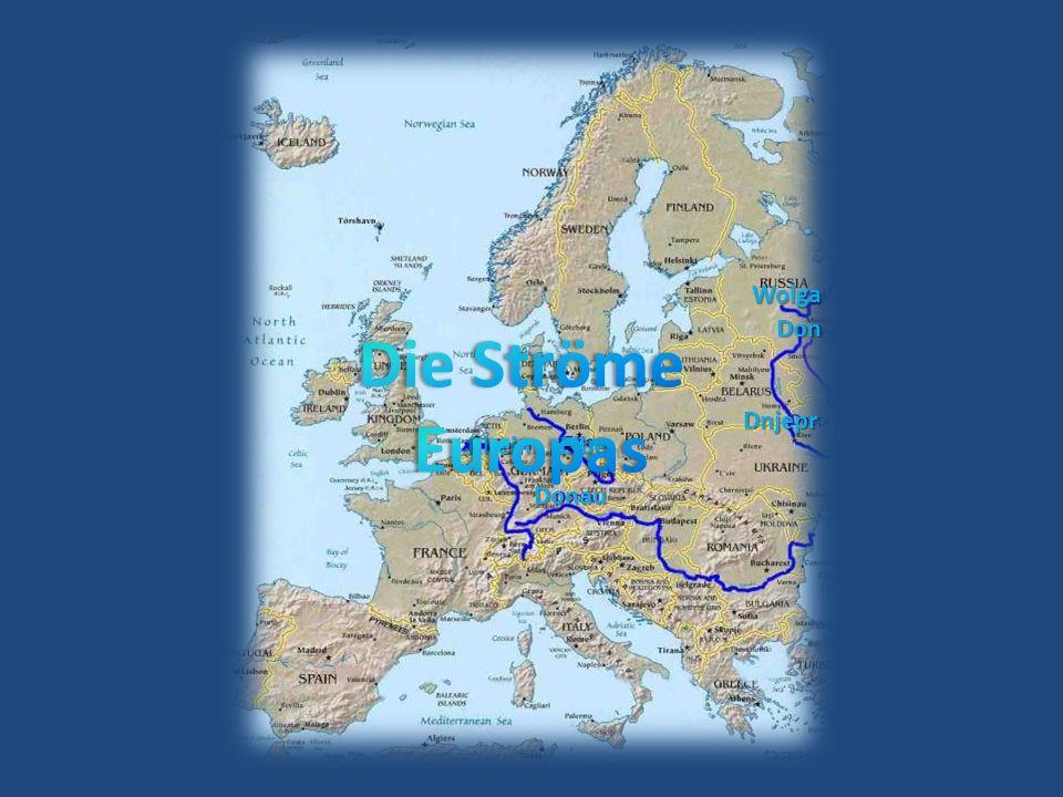 Wolga Don Die Ströme Europas Dnjepr Rhein Elbe Donau