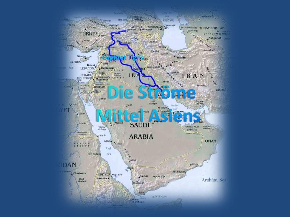 Euphrat Tigris Die Ströme Mittel Asiens