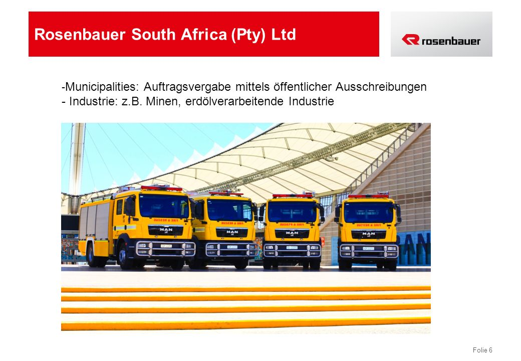 Rosenbauer South Africa (Pty) Ltd