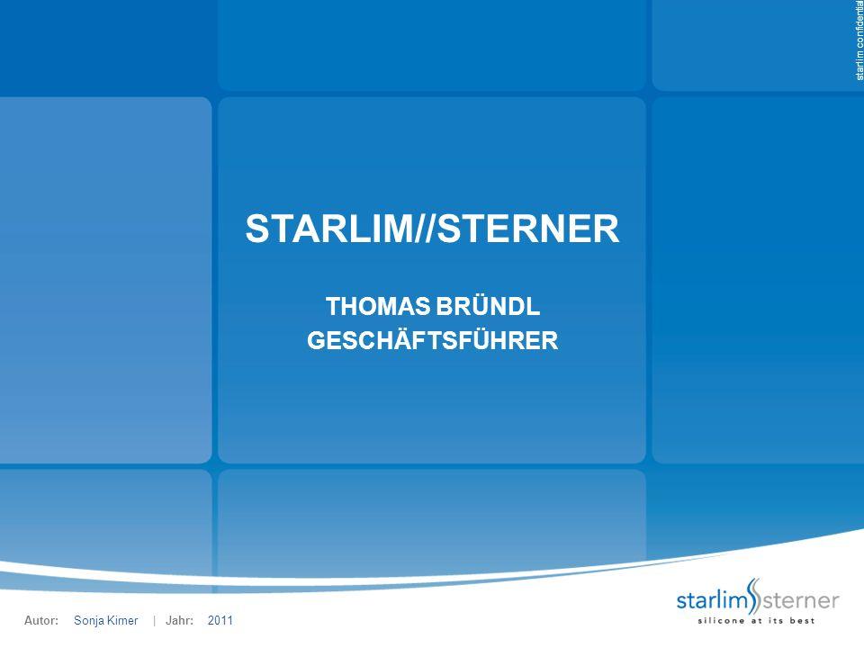 starlim//sterneR Thomas Bründl Geschäftsführer Sonja Kirner 2011