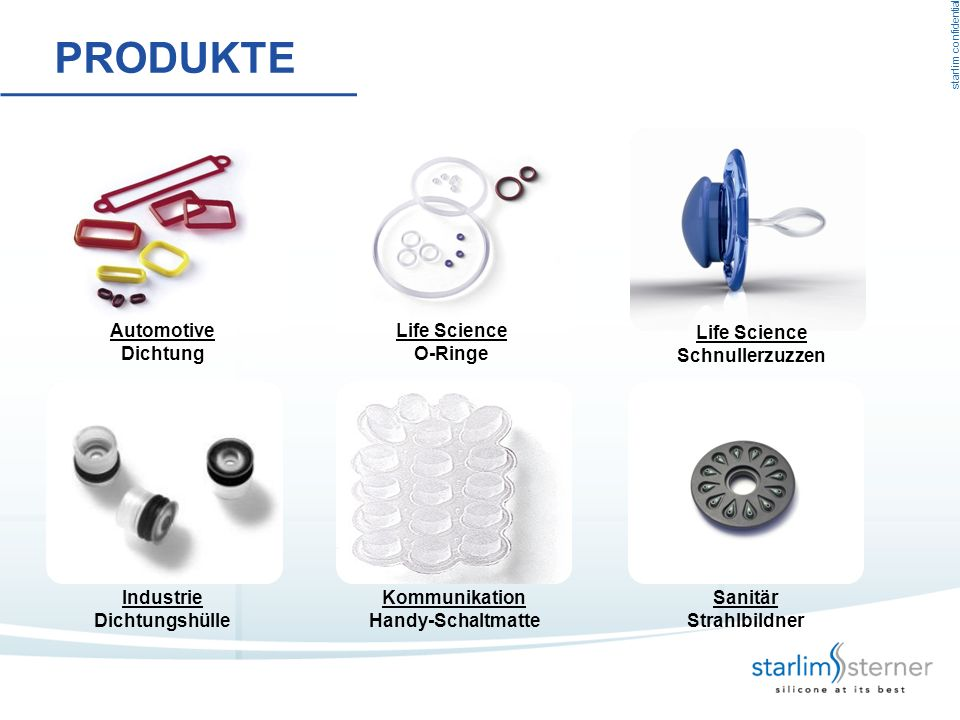 Produkte Automotive Dichtung Life Science O-Ringe