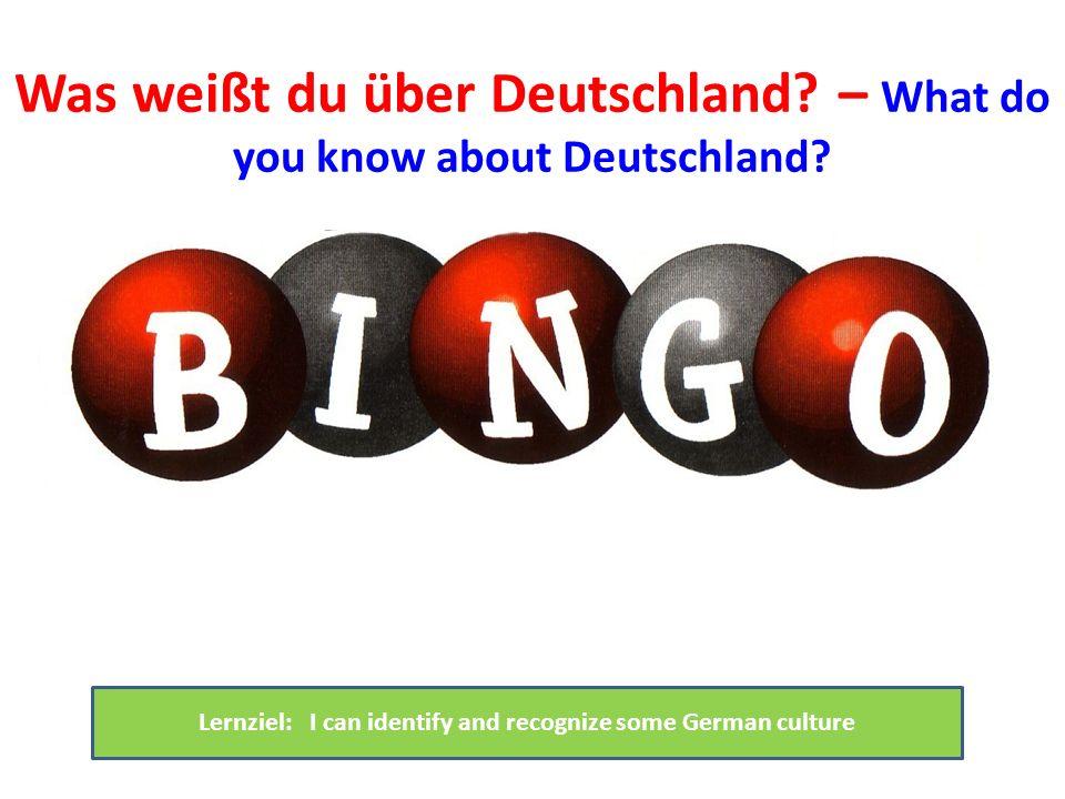 Was weißt du über Deutschland – What do you know about Deutschland