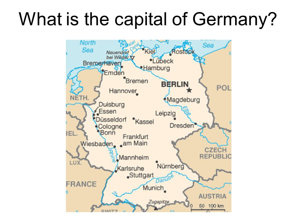 What is the capital of Germany