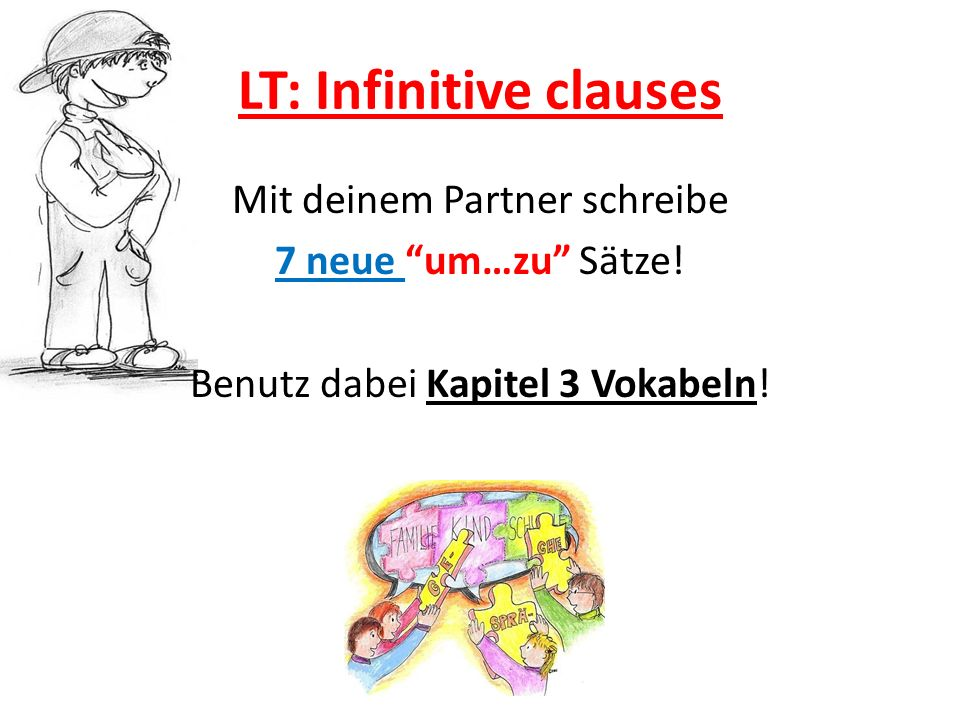 LT: Infinitive clauses