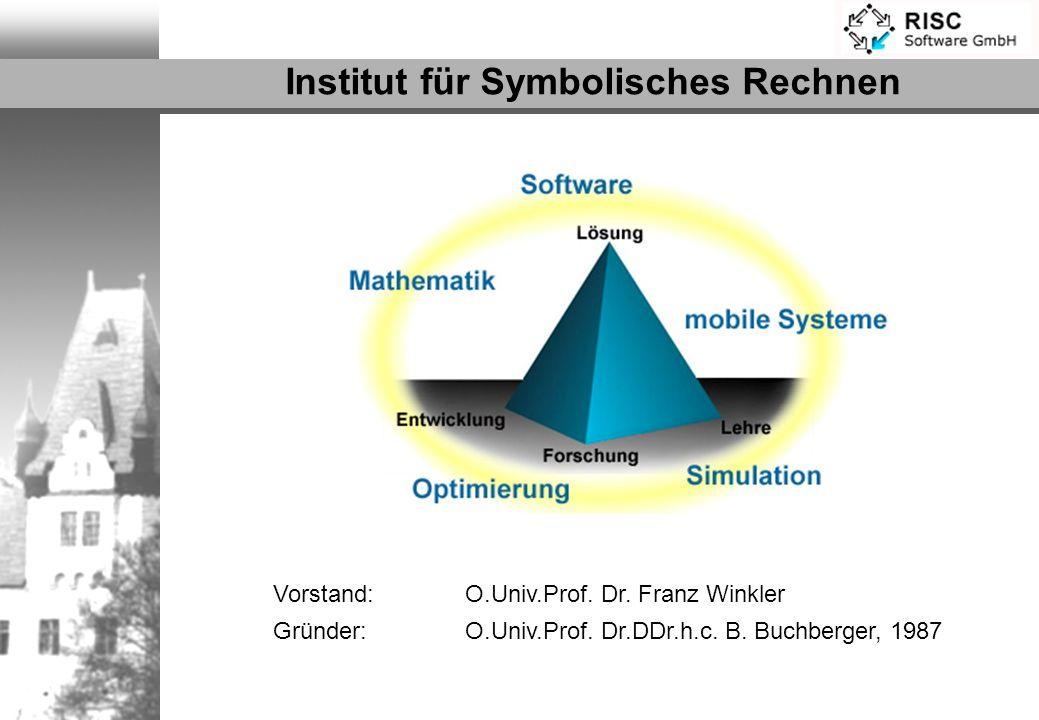 Institut für Symbolisches Rechnen