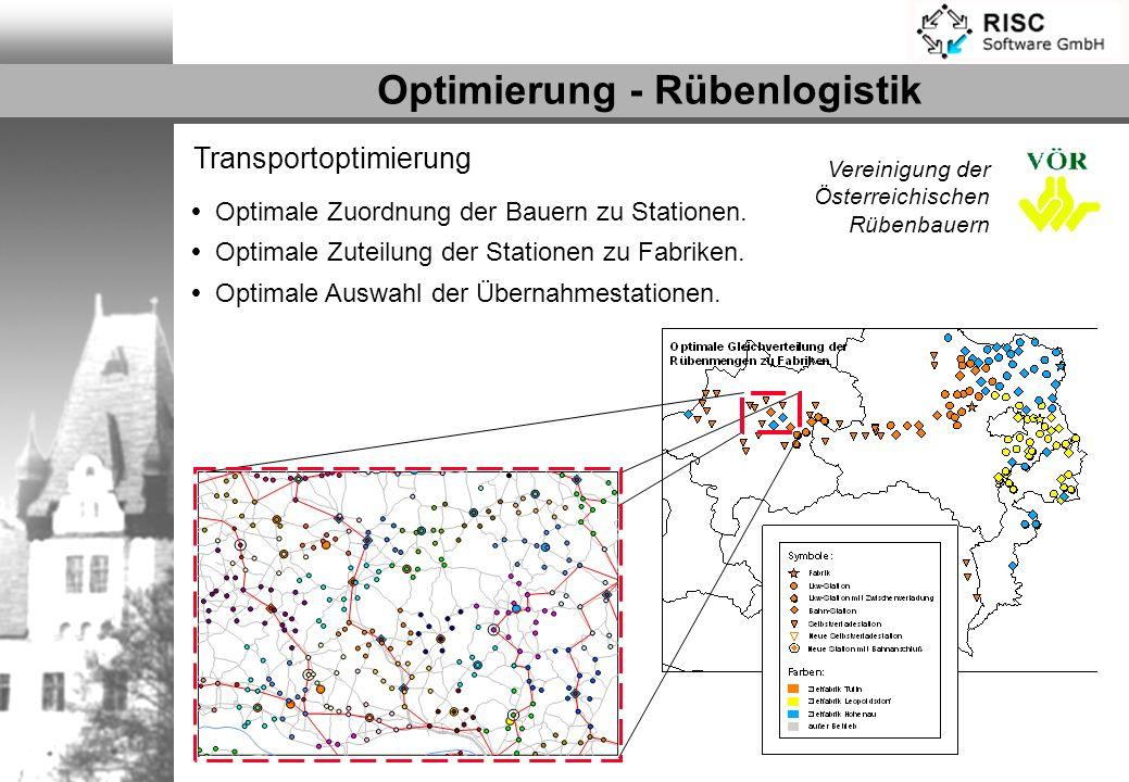 Optimierung - Rübenlogistik