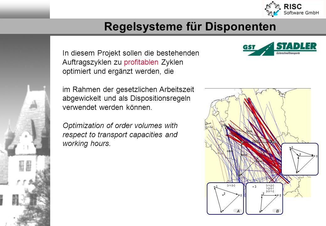 Regelsysteme für Disponenten