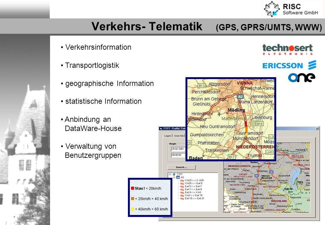 Verkehrs- Telematik (GPS, GPRS/UMTS, WWW)