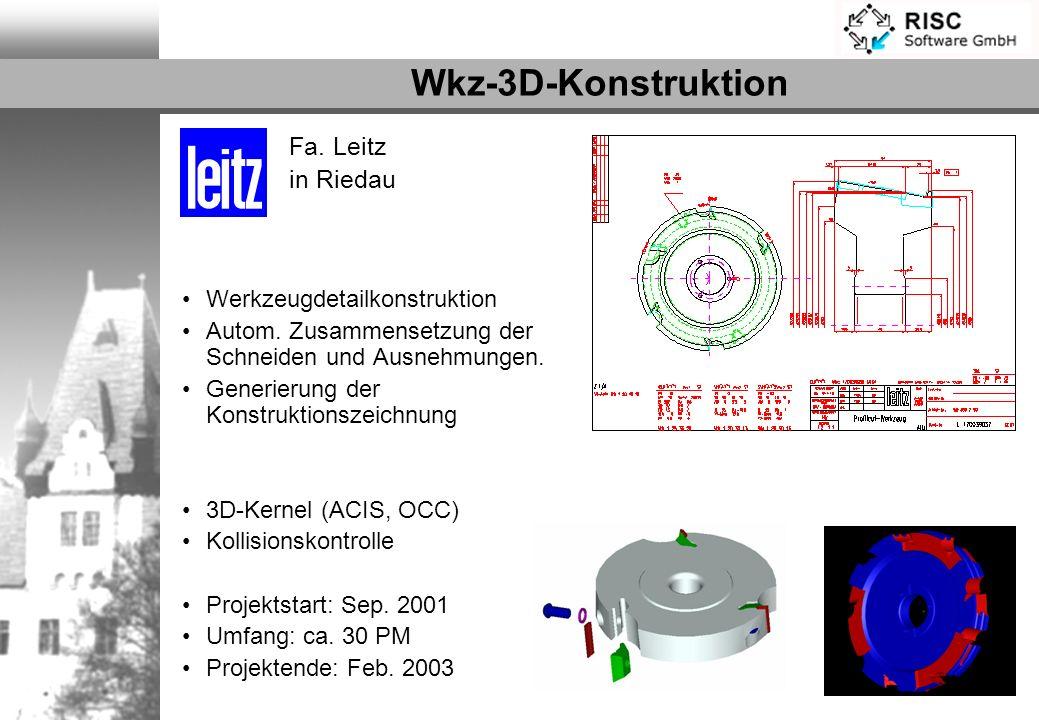 Wkz-3D-Konstruktion Fa. Leitz in Riedau Werkzeugdetailkonstruktion