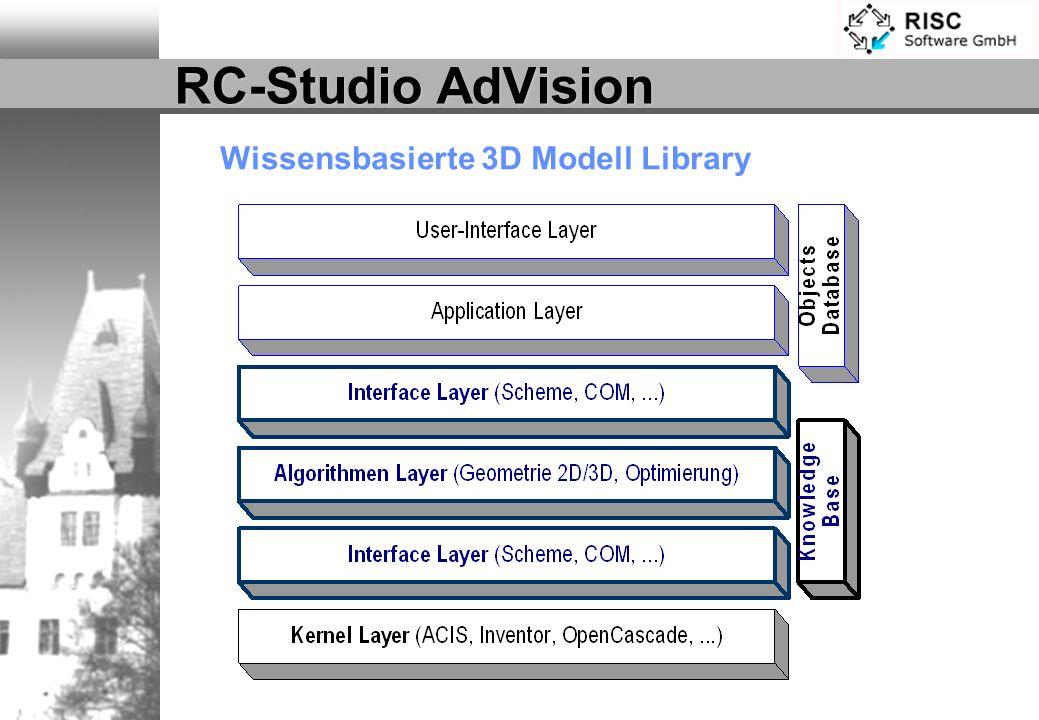 Wissensbasierte 3D Modell Library