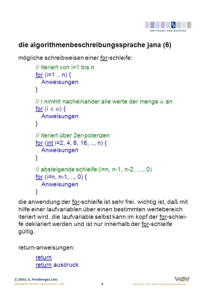 die algorithmenbeschreibungssprache jana (7)