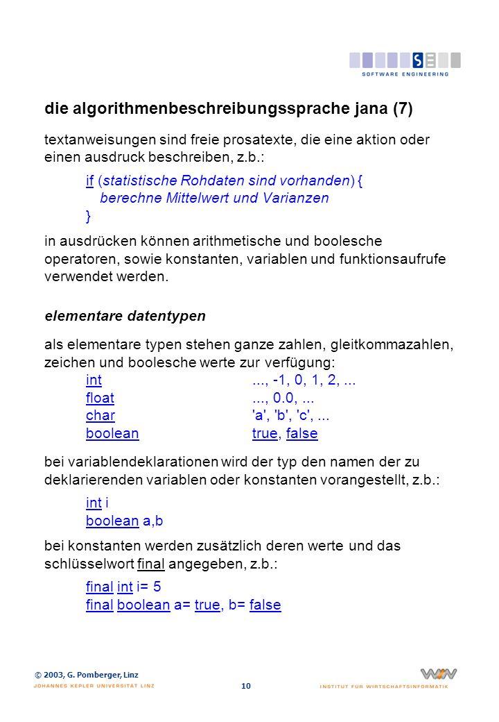die algorithmenbeschreibungssprache jana (8)