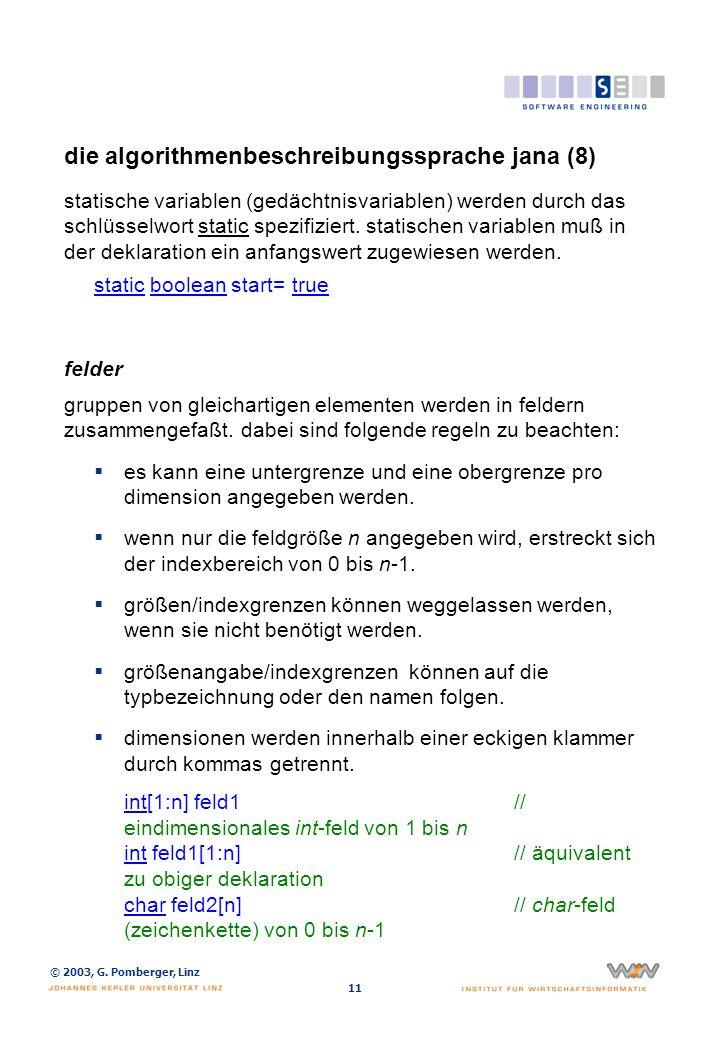 die algorithmenbeschreibungssprache jana (9)