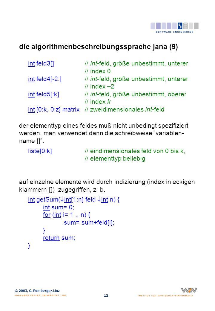 die algorithmenbeschreibungssprache jana (10)