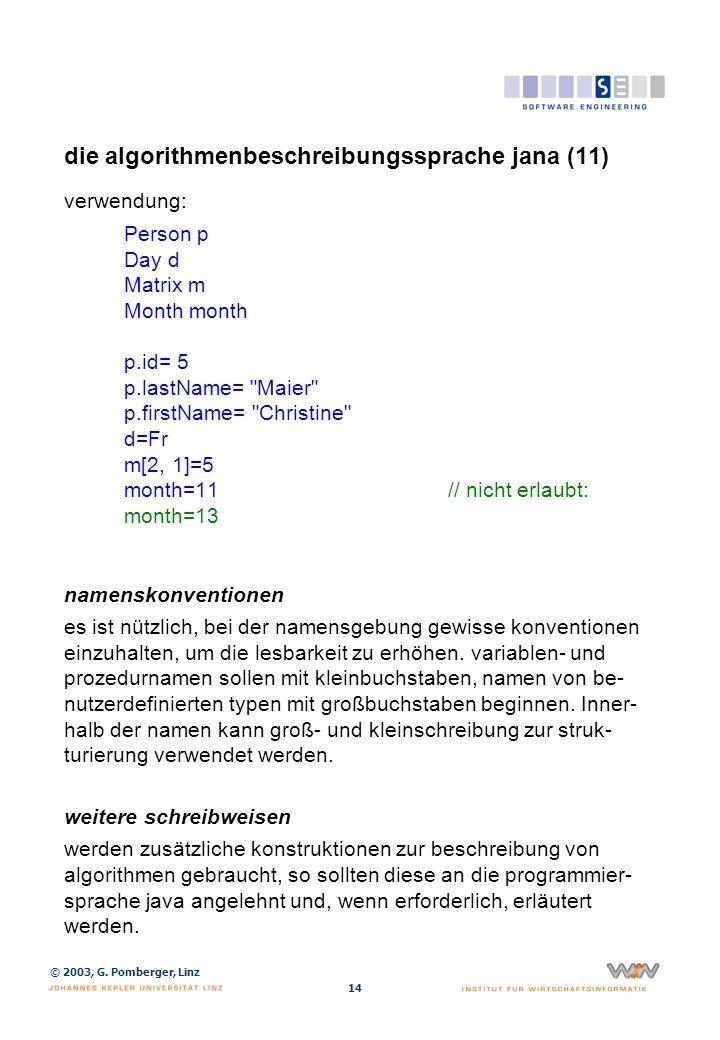 die algorithmenbeschreibungssprache jana (12)
