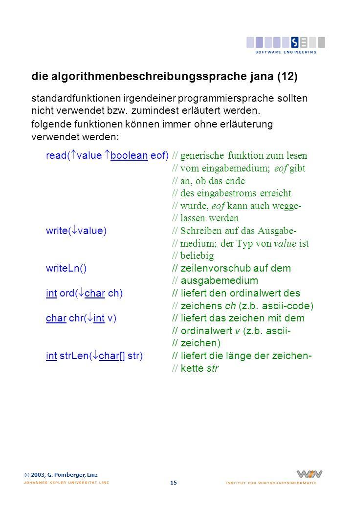 die algorithmenbeschreibungssprache jana (13)