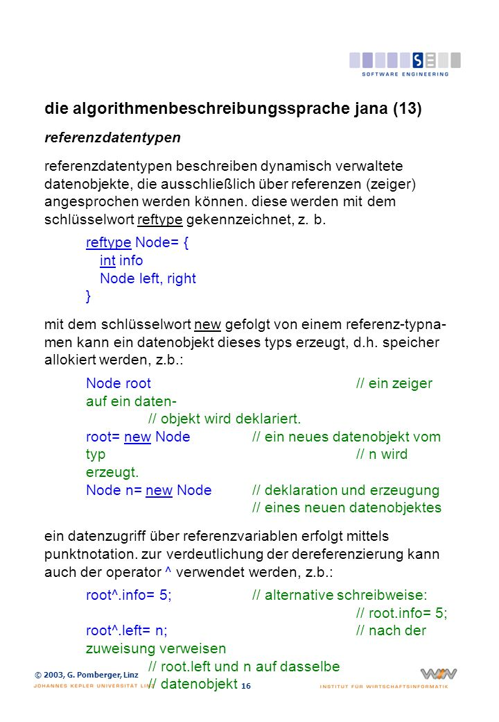 die algorithmenbeschreibungssprache jana (14)