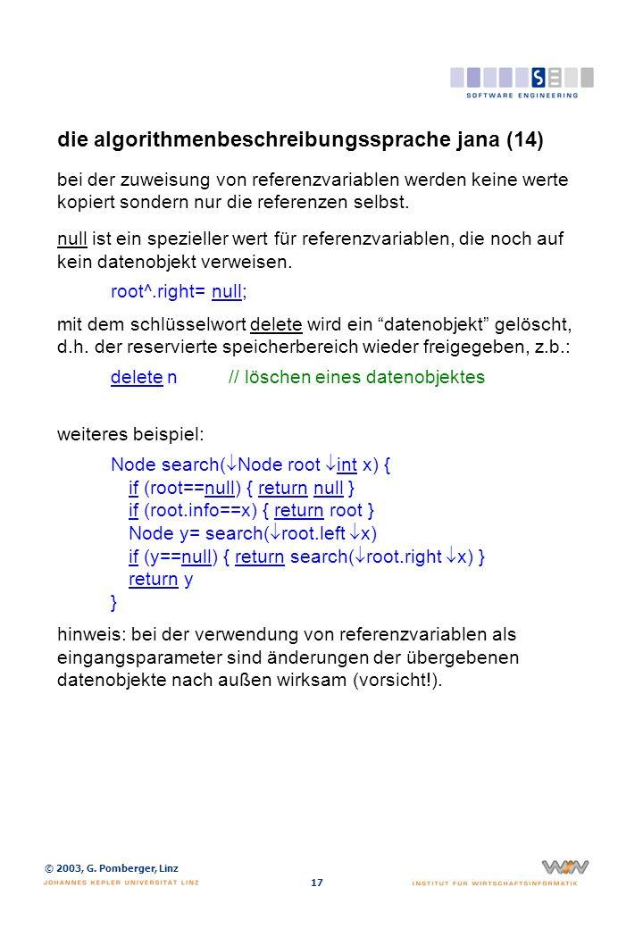 die algorithmenbeschreibungssprache jana (15)