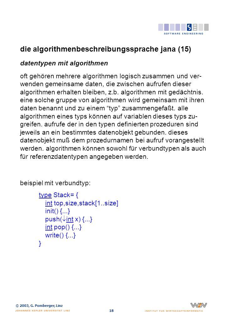 die algorithmenbeschreibungssprache jana (16)