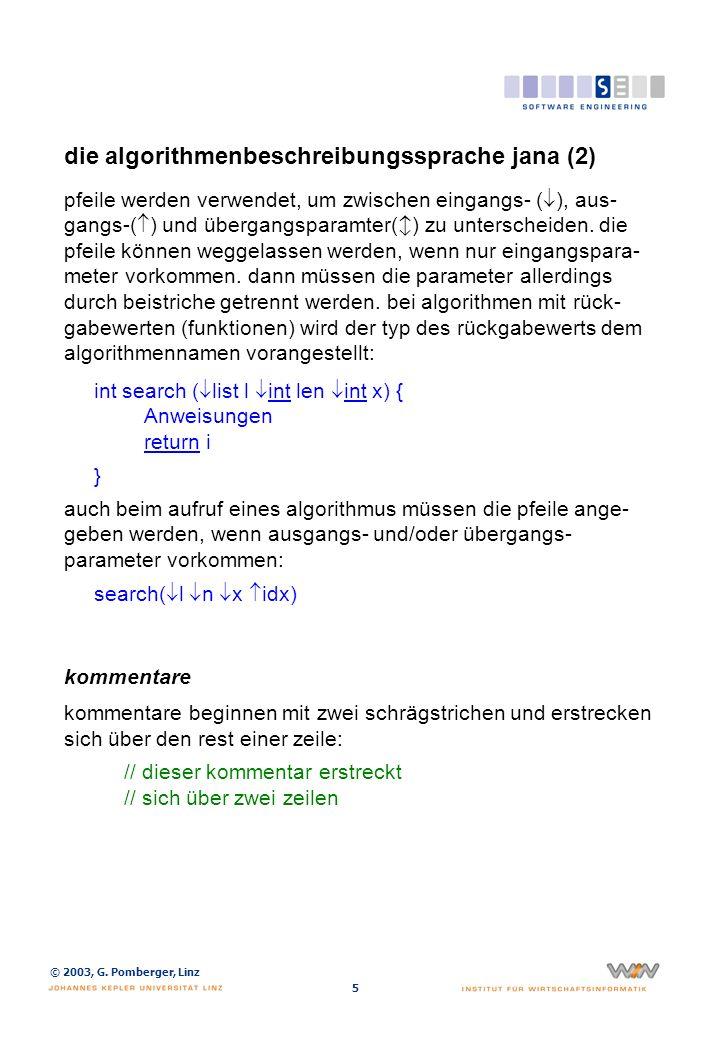 die algorithmenbeschreibungssprache jana (3)