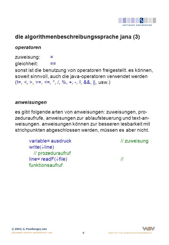 die algorithmenbeschreibungssprache jana (4)