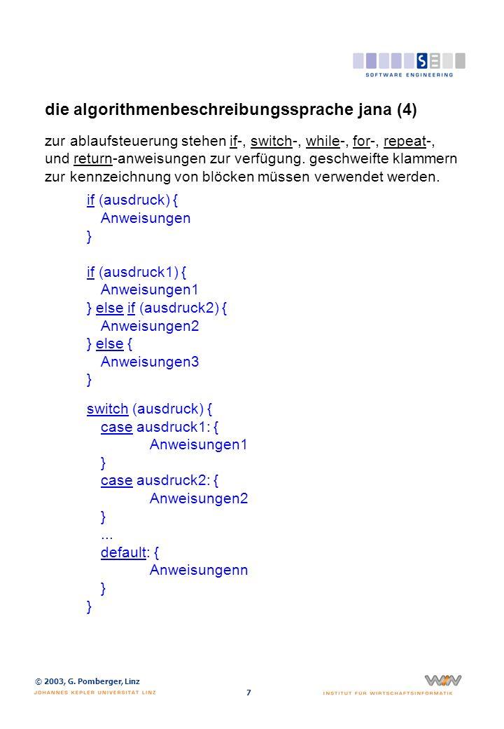 die algorithmenbeschreibungssprache jana (5)