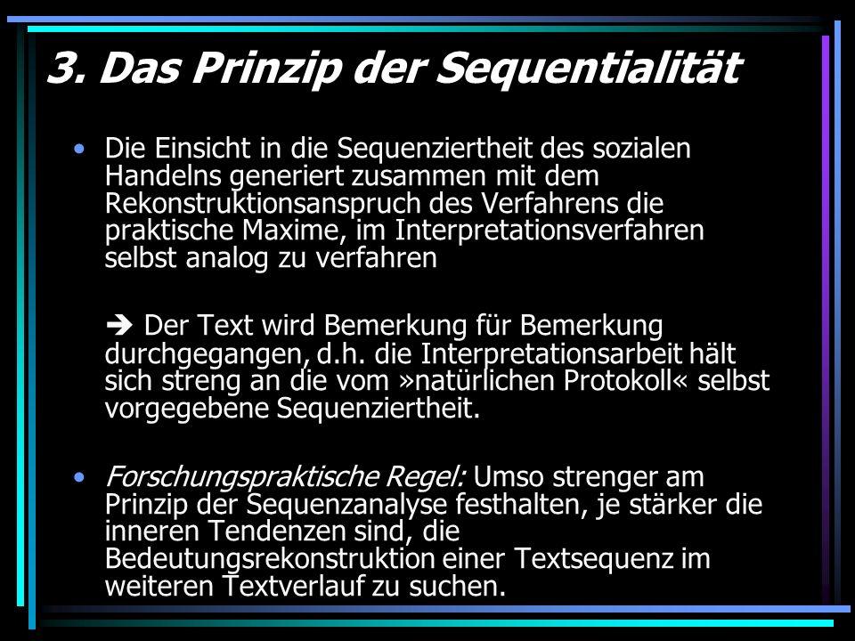 3. Das Prinzip der Sequentialität