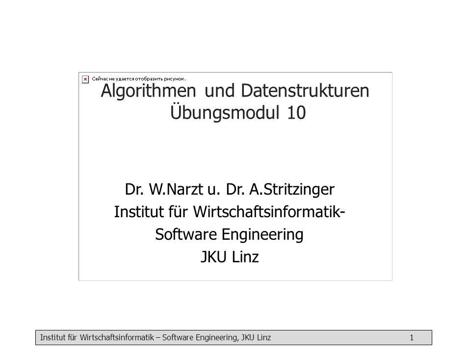 Algorithmen und Datenstrukturen Übungsmodul 10