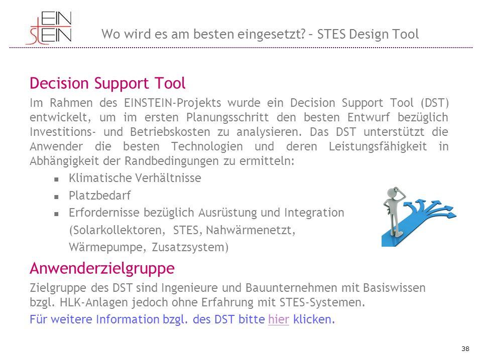 Wo wird es am besten eingesetzt – STES Design Tool