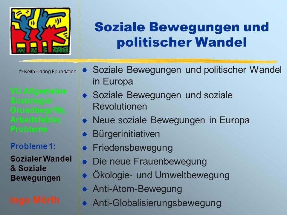 Soziale Bewegungen und politischer Wandel