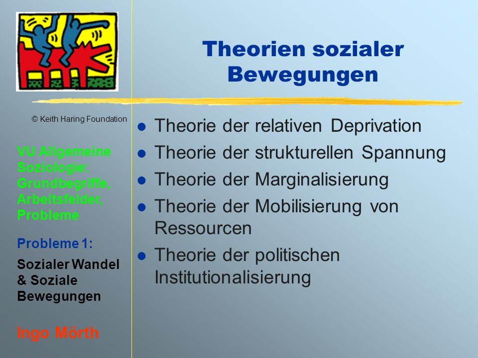 Theorien sozialer Bewegungen