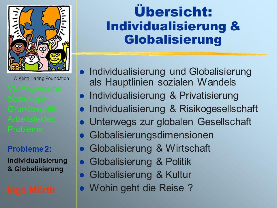 Übersicht: Individualisierung & Globalisierung