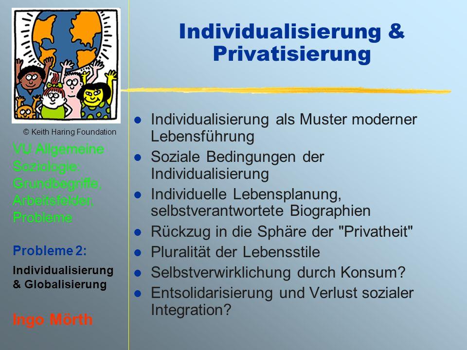 Individualisierung & Privatisierung