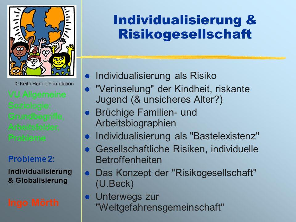 Individualisierung & Risikogesellschaft