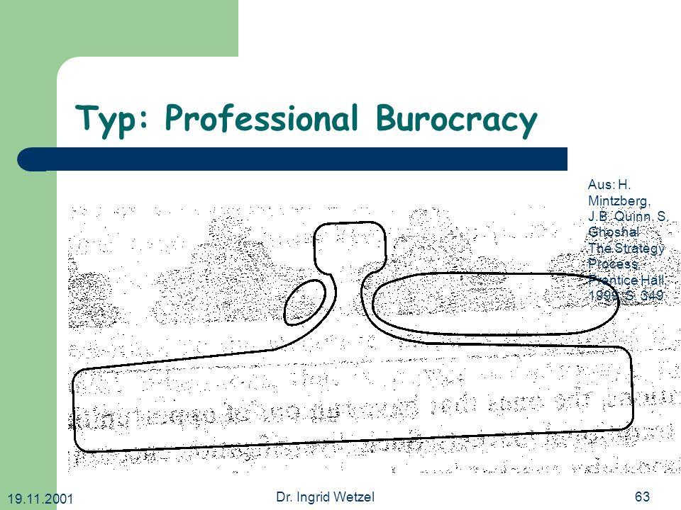 Typ: Professional Burocracy