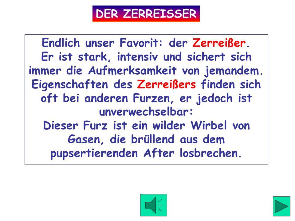DER ZERREISSER