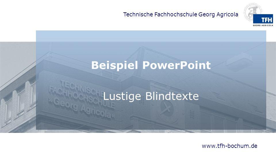 Beispiel PowerPoint Lustige Blindtexte