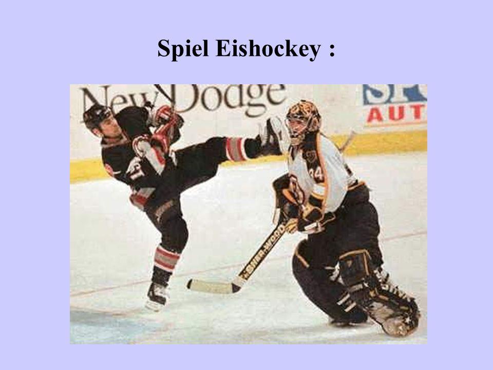 Spiel Eishockey :