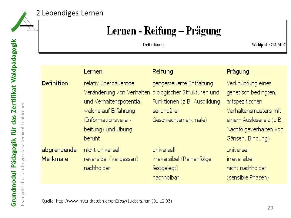 2 Lebendiges Lernen