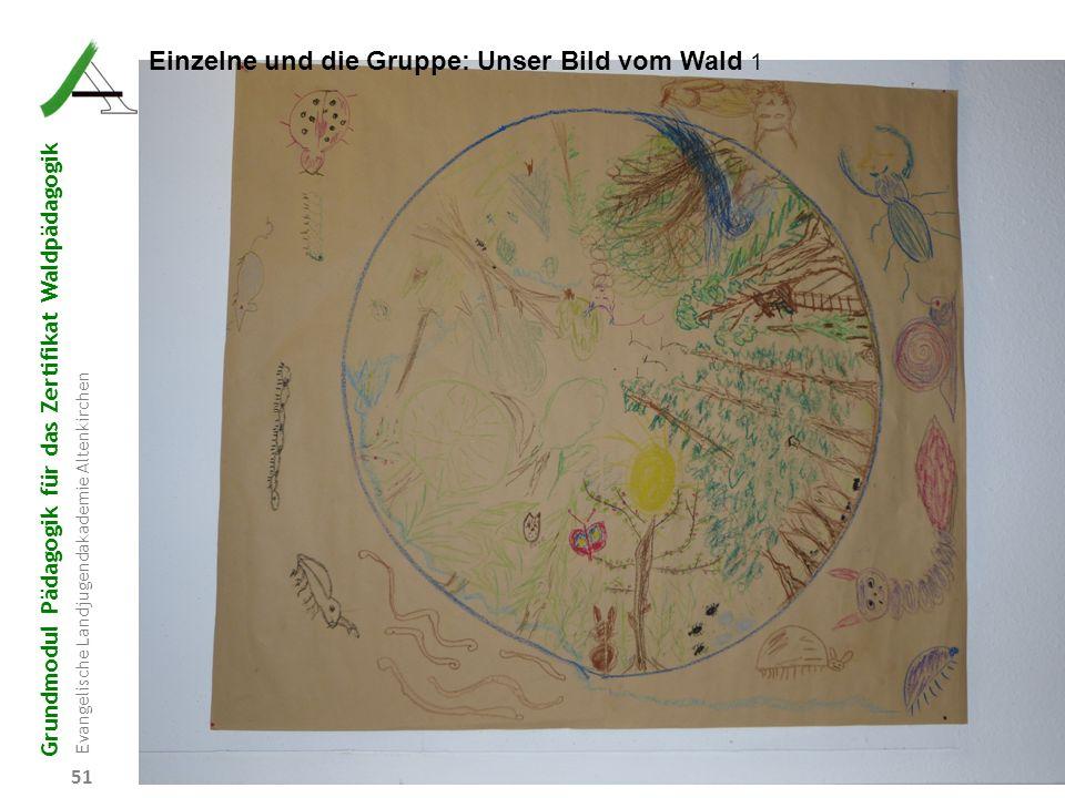 Einzelne und die Gruppe: Unser Bild vom Wald 1