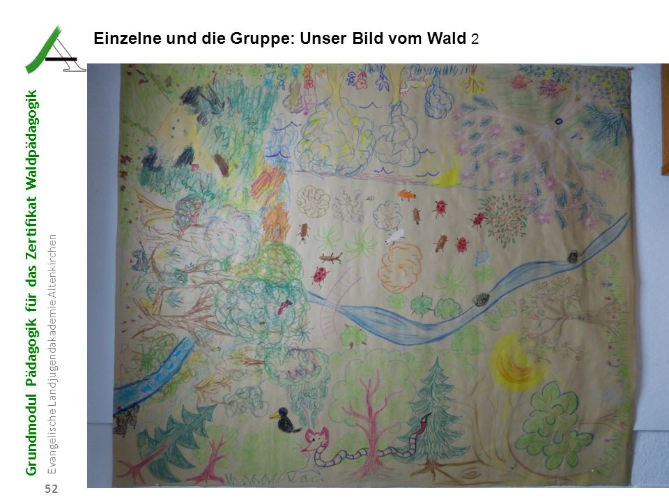 Einzelne und die Gruppe: Unser Bild vom Wald 2