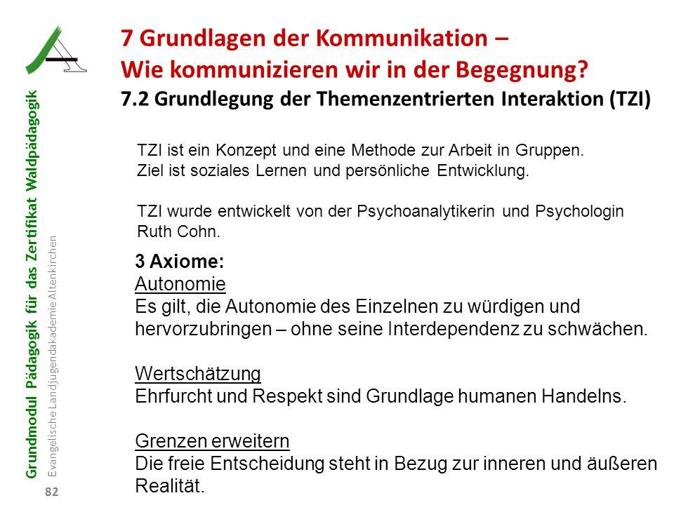 7 Grundlagen der Kommunikation –