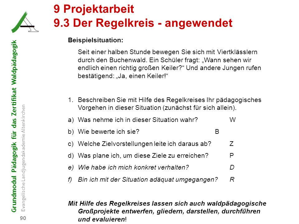 9.3 Der Regelkreis - angewendet