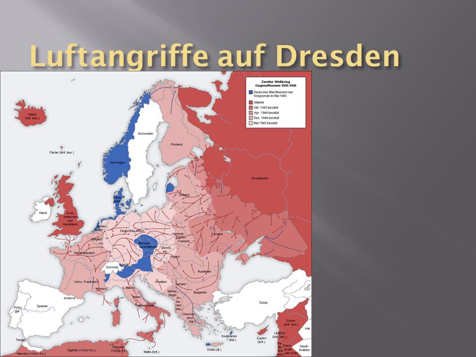 Luftangriffe auf Dresden