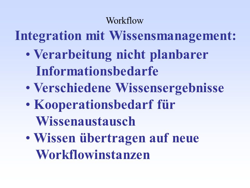 Integration mit Wissensmanagement: