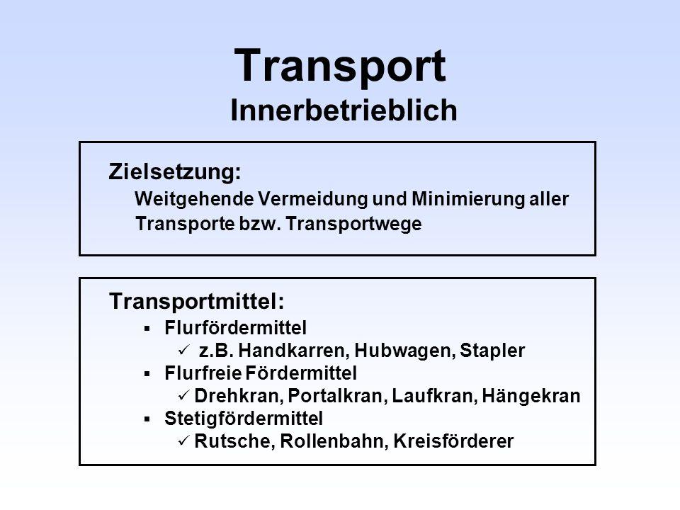 Transport Innerbetrieblich